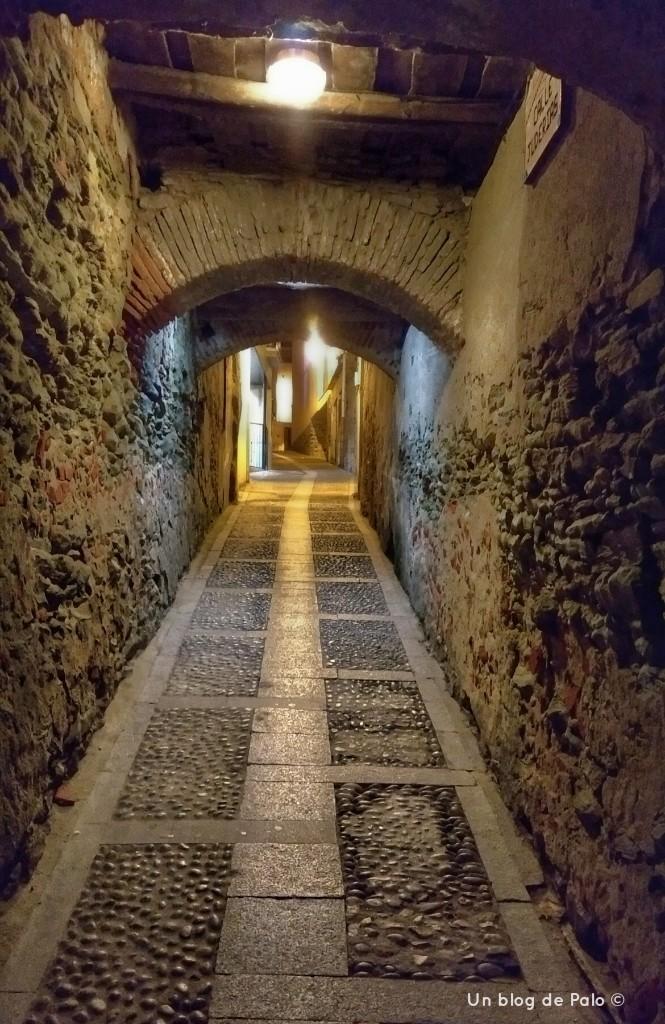 Calle de la Antigua judería de Alba de Tormes