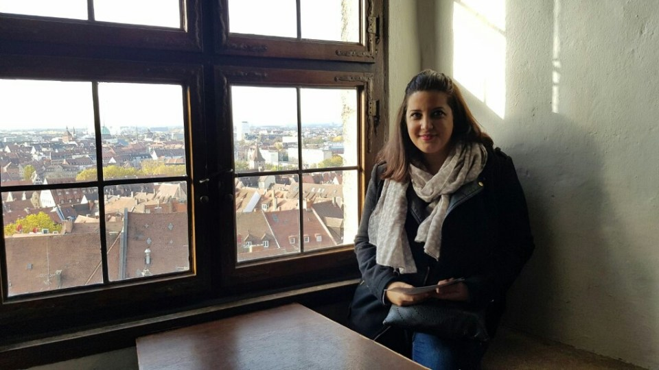 Palo en el Castillo de Nuremberg