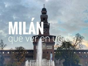 Milán qué ver en un día de octubre