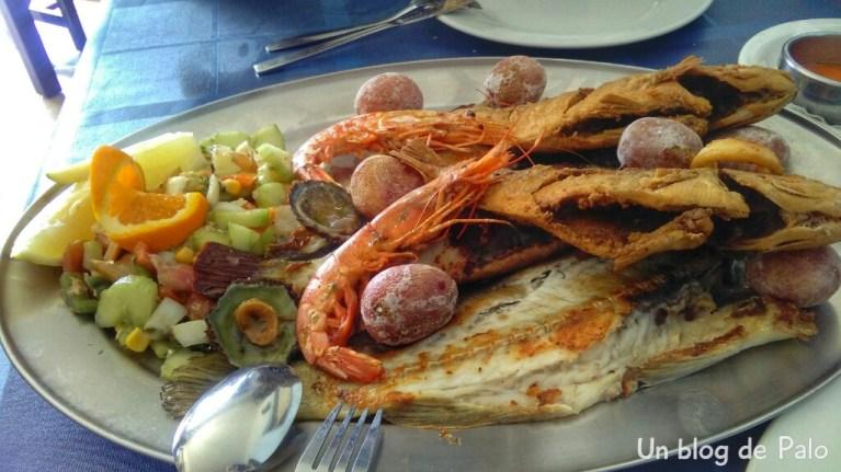 Restaurante el Lago, parrillada