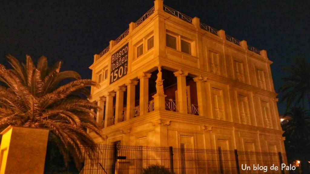 Casa de Blasco Ibañez en Valencia, Fachada