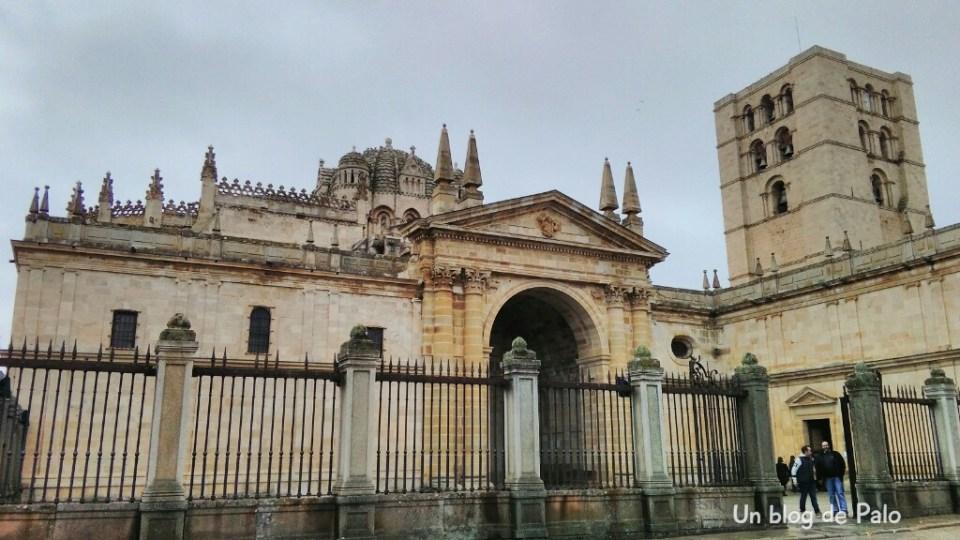 Fachada de la Catedral de Zamora