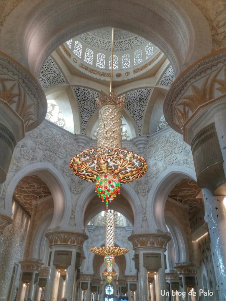 Sheikh Zayed, interior en Abu Dhabi
