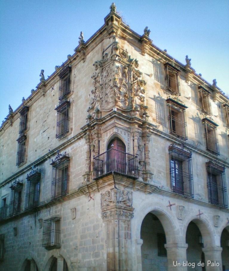 Palacio de los Marqueses de la Conquista en Trujillo