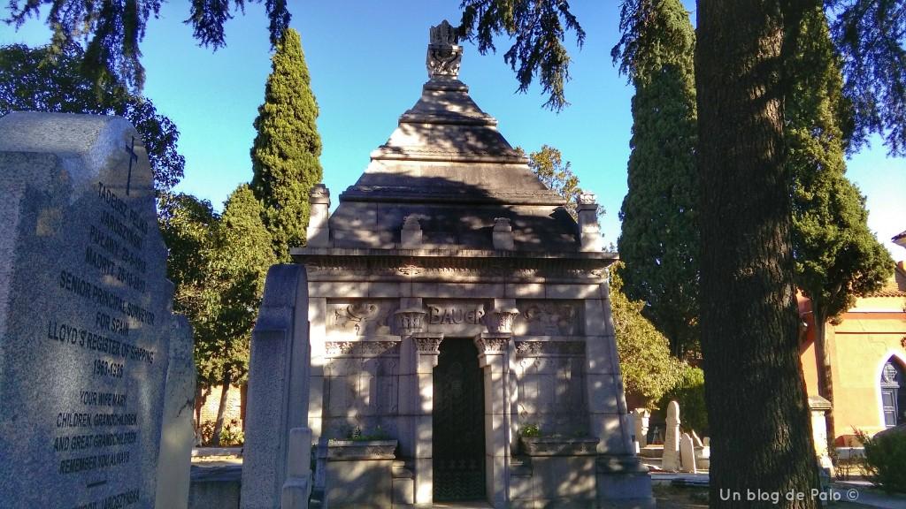 Cementerio Británico o de los ingleses en Carabanchel