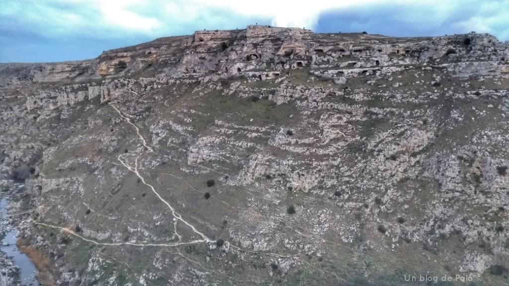 Vistas del parque de la Murgia desde Matera