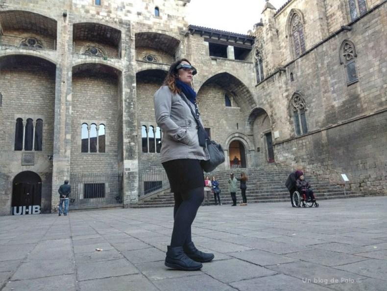 Miriam en la ruta virtual