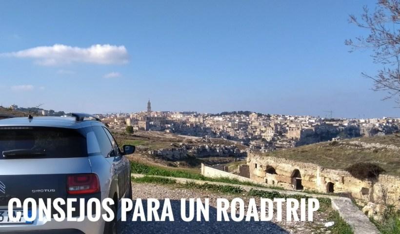 Consejos para realizar un roadtrip