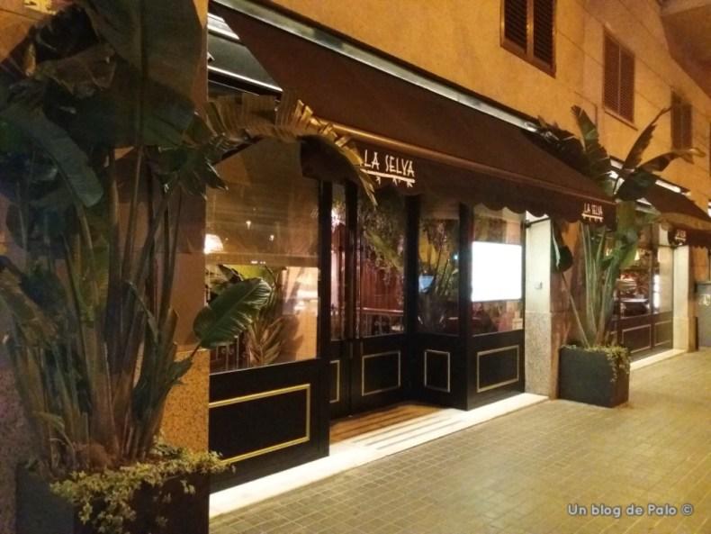 Entrada del restaurante La Selva