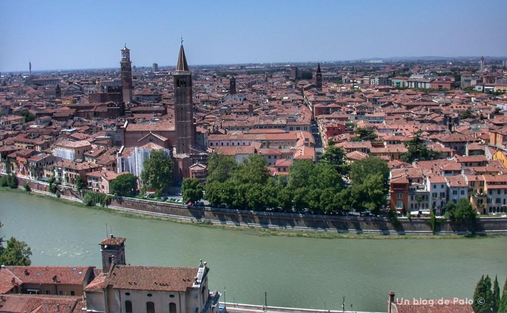 Vistas de la ciudad desde Castel San Pietro