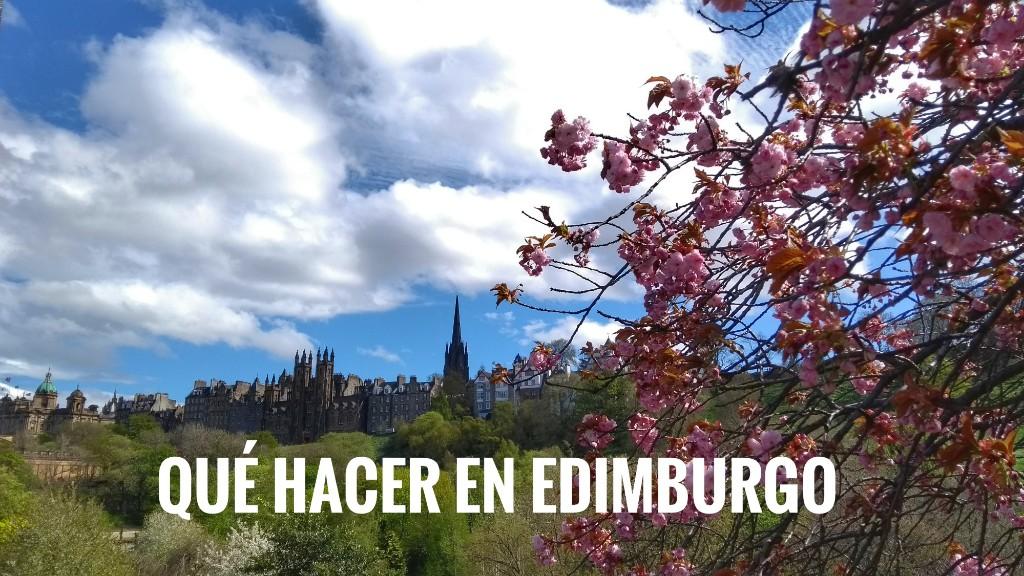 Qué hacer en Edimburgo: planes en la ciudad