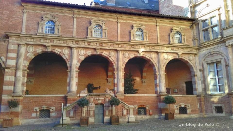 Logia renacentista del Hôtel d'Assezzat