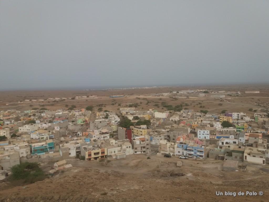 Vista de Espargos en Cabo Verde