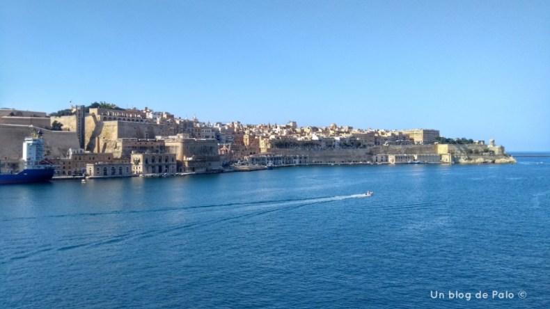 Jardín de la Guardiola en Senglea Malta