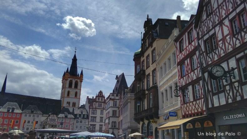 Plaza del Mercado en Trier