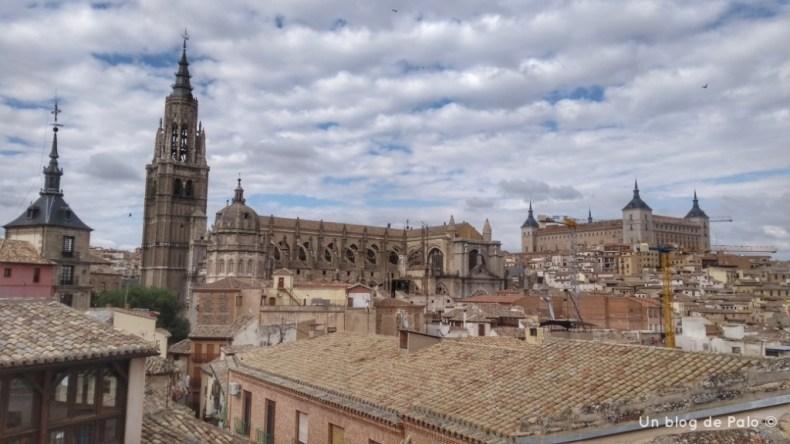 Vistas de la Catedral de Toledo desde el hotel
