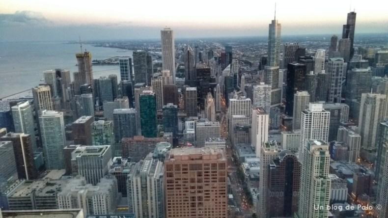 Vistas de Chicago desde la Torre Hancok