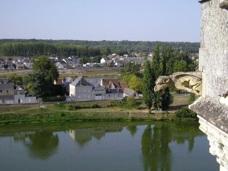 Vistas desde el Castillo de Amboise
