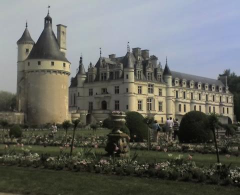 Vistas del Castillo de Chenonceau