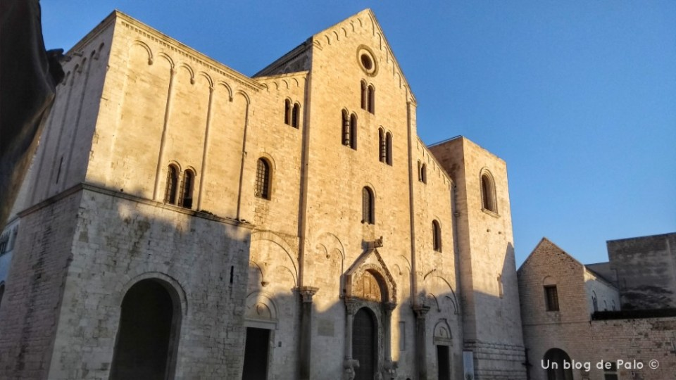 Fachada de la Iglesia de San Nicola de Bari
