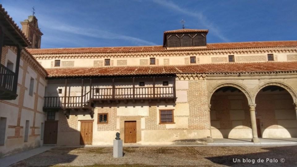 Interior del Palacio de Juan II, hoy convento