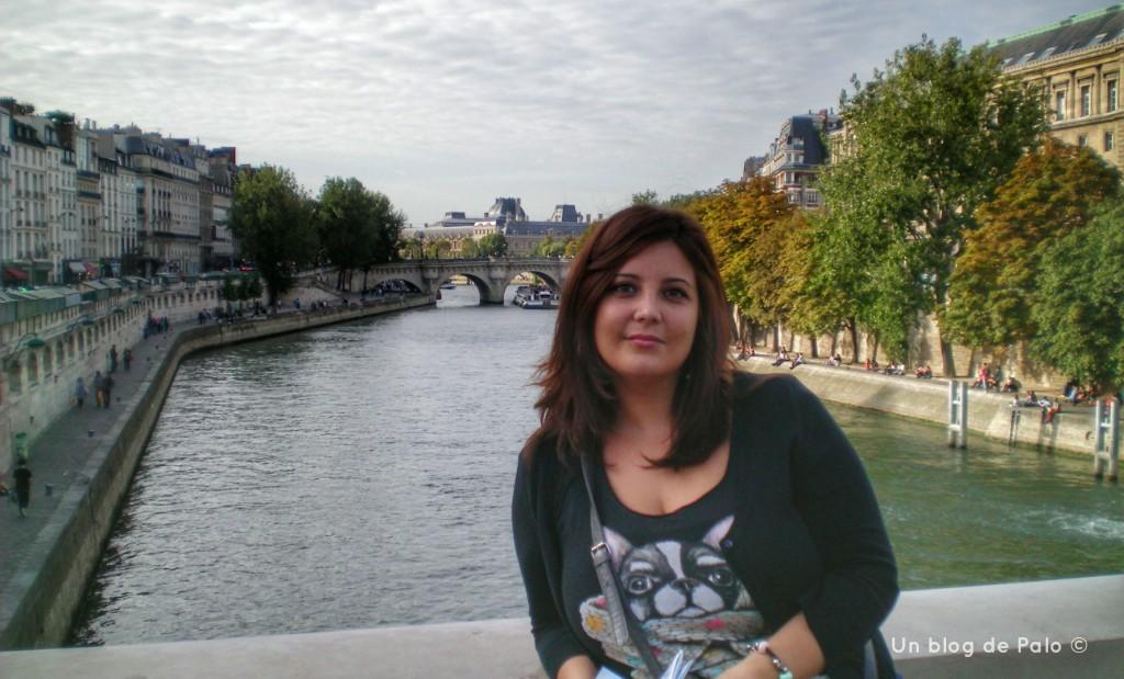 Palo en París a las orillas del Sena