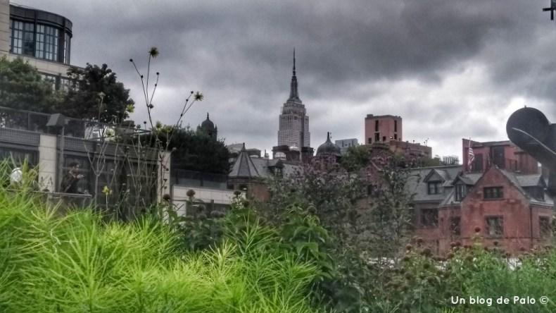 Vistas desde la High Line en Chelsea