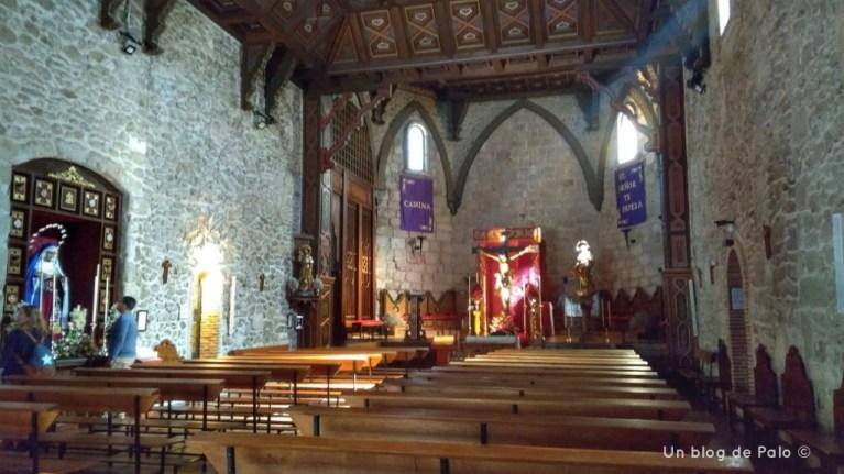 Interior de la Iglesia de Santa María de Buitrago de Lozoya