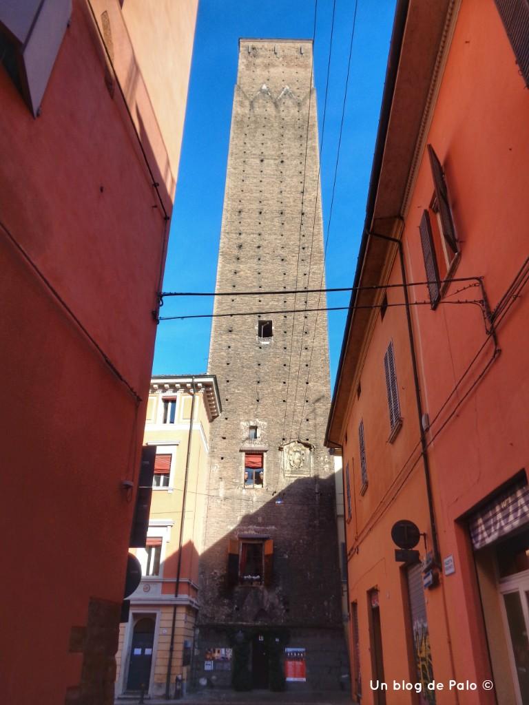 Torre en la que se puede pasar la noche en Bolonia