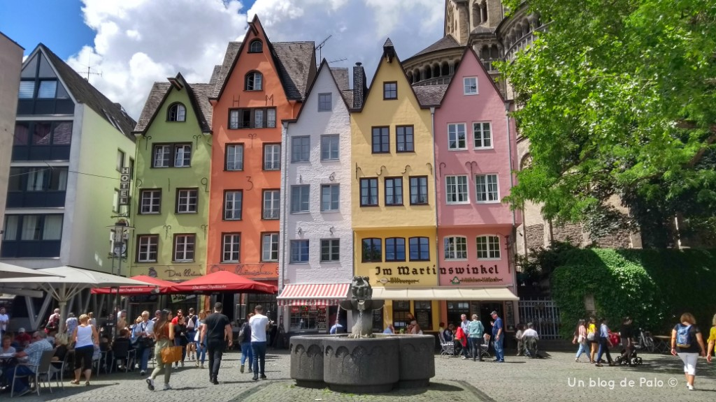 Pasear por Colonia con buen tiempo es un buen plan y gratis
