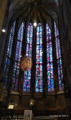 Vidrieras de la Catedral de Aquisgrán