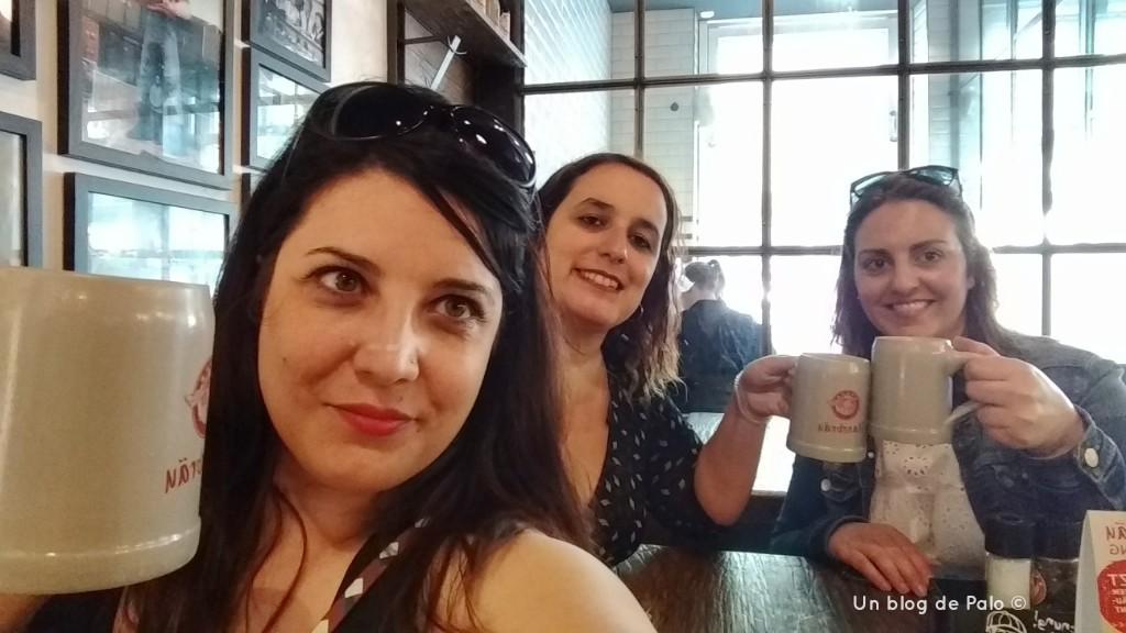 Chin chin de las chicas del blog en Aquisgrán