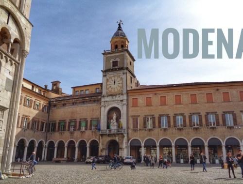 Modena qué ver en un día