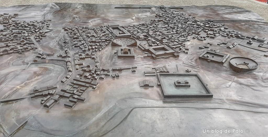 Maqueta de la ciudad de Augusta Raurica