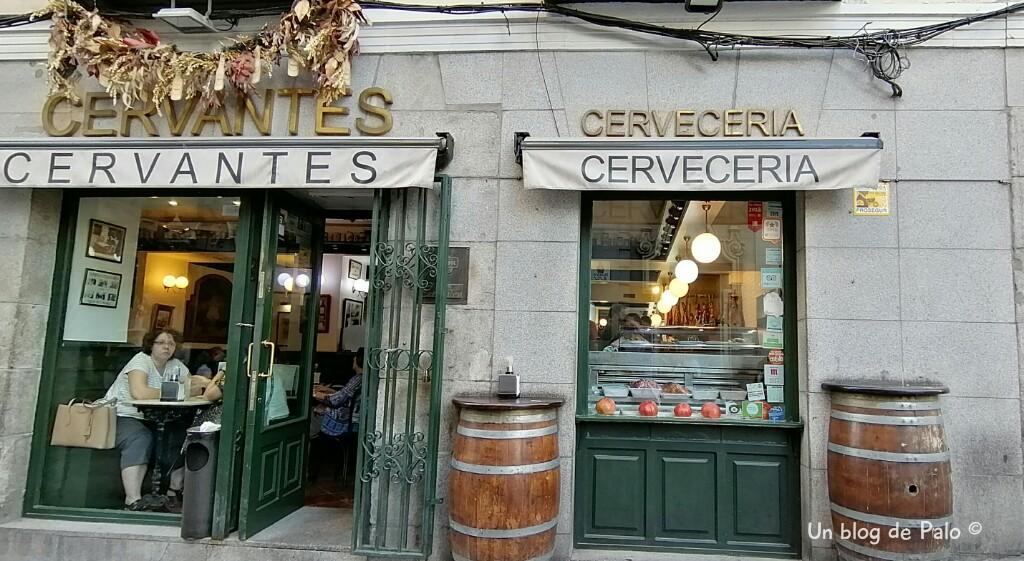 Cervecería Cervantes en Madrid