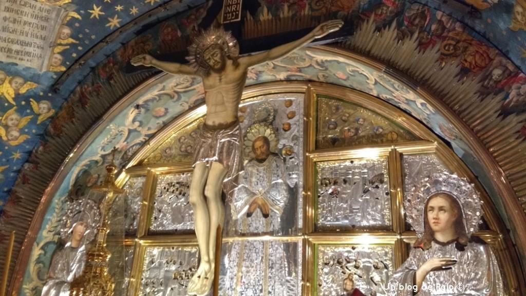 Interior del Santo Sepulcro, Monte Gólgota o del Calvario