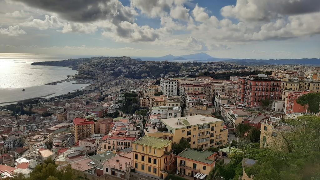 Visitar el Vomero en Nápoles día 1