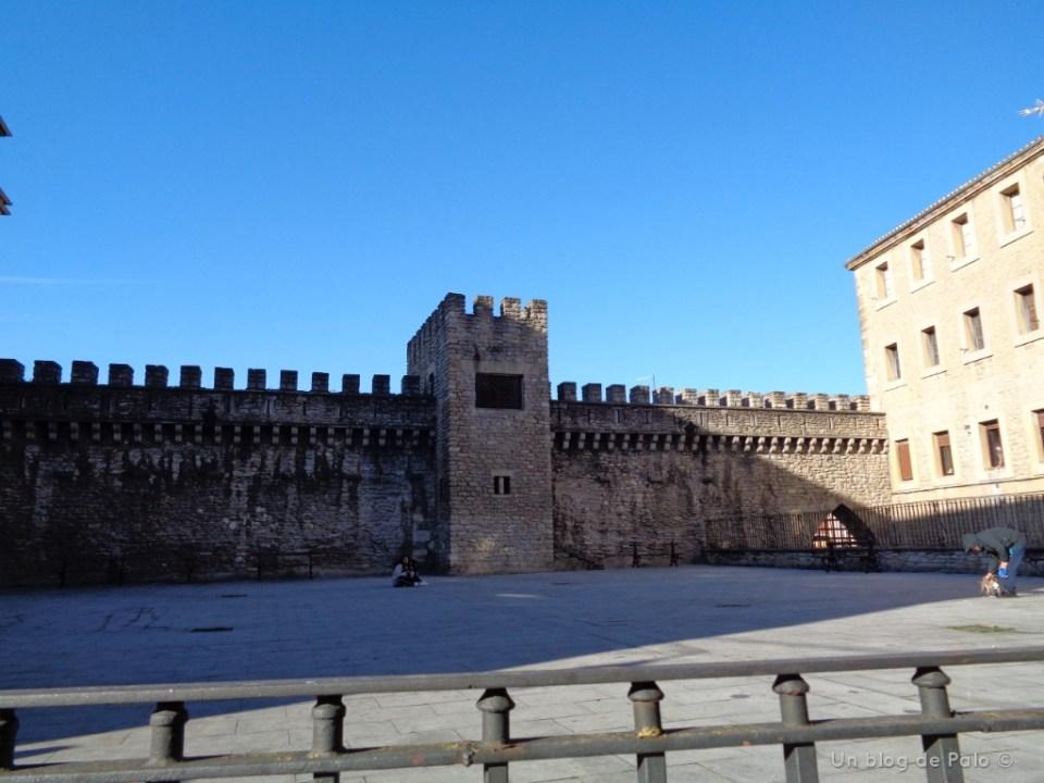 Partes de la muralla de Vitoria