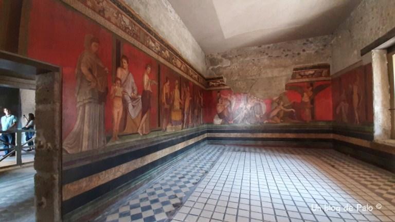 Villa dei Misteri en Pompeya