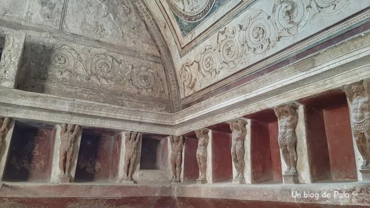 Decoración de las Termas de Pompeya