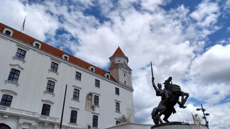 Castillo de Bratislava, exterior