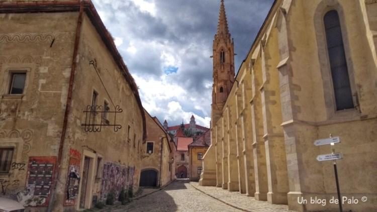Centro histórico es la Iglesia de la Elevación de la Santa Cruz
