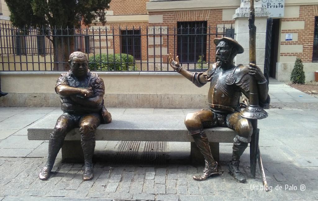 Ruta por Alcalá de Henares, Don Quijote y Sancho