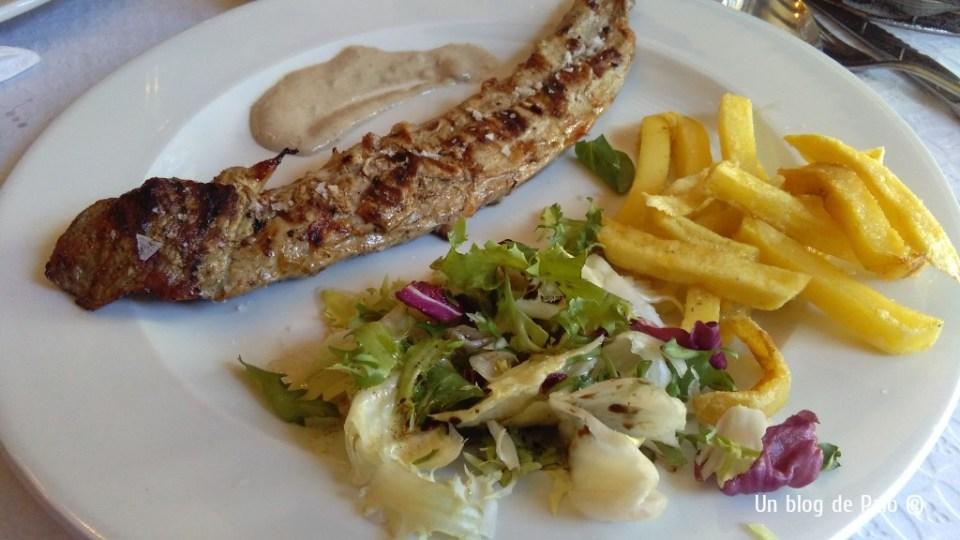 Comida en el Restaurante El Encuentro La Alberca