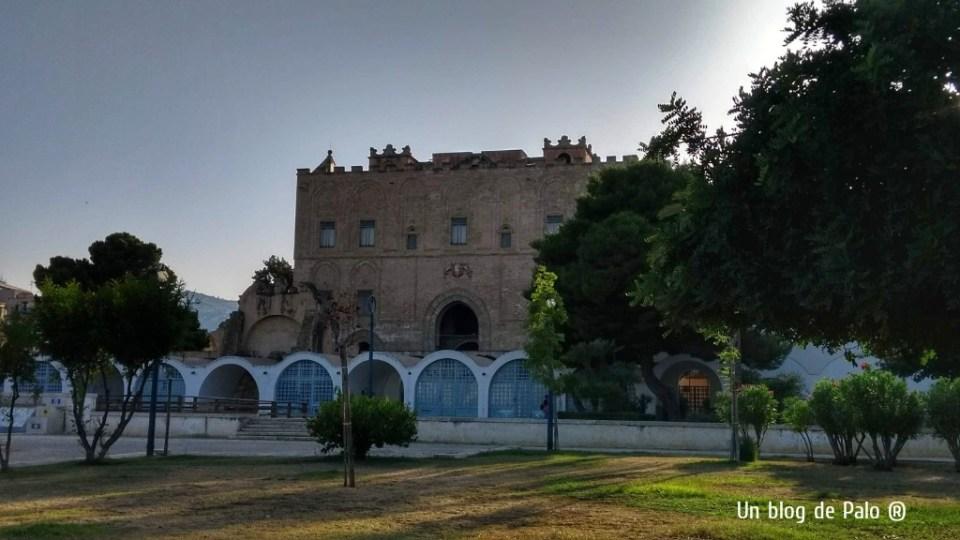 Exterior del castillo de Zisa en Palermo