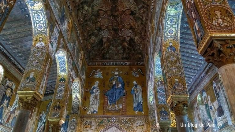 Interior de la capilla Palatina de Palermo