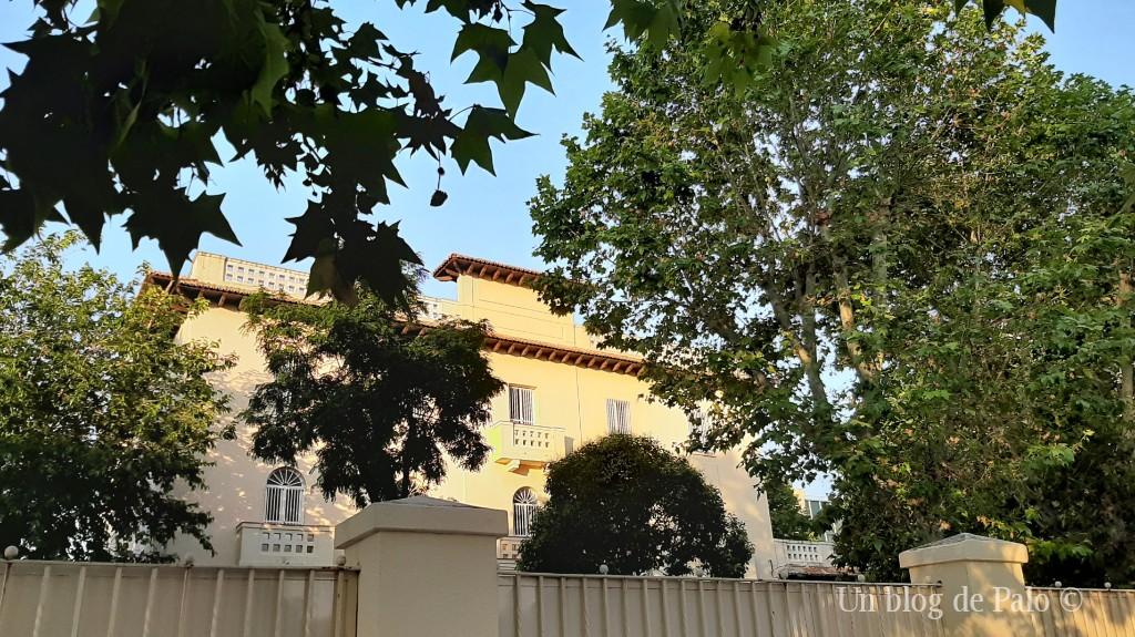 La antigua Villa Rubín casa de Arturo Soria