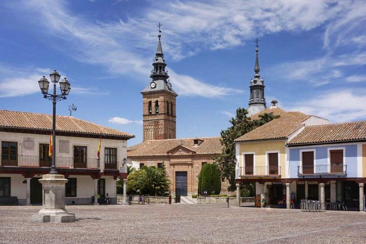 Plaza de Segovia en Navalcarnero (Madrid)