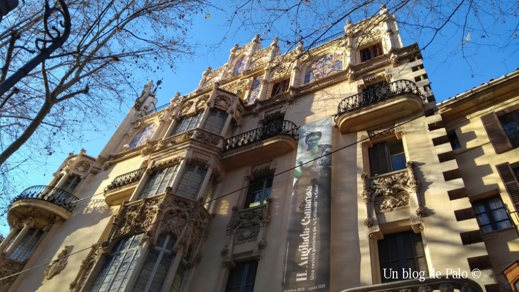 Edificio modernista del Gran Hotel de Palma