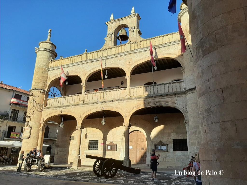 Fachada del ayuntamiento de Ciudad Rodrigo